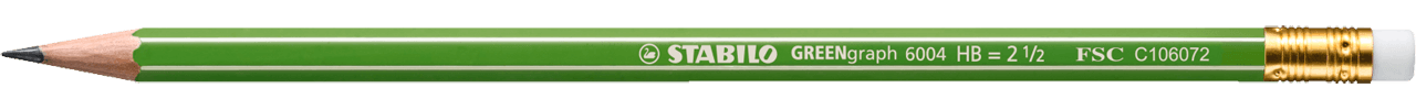 STABILO GREENgraph with eraser