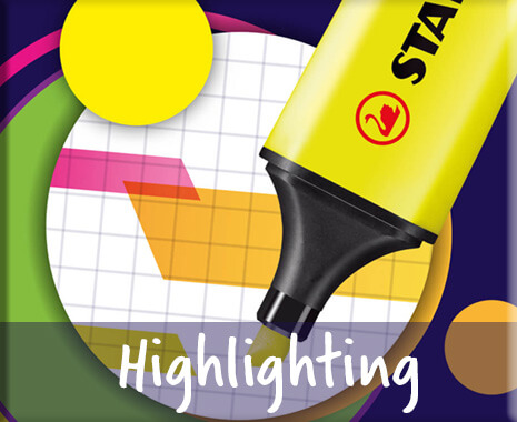 STABILO Highlighting products