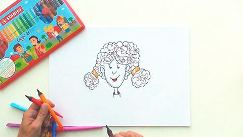 Tutoriales de dibujo - www.stabilo.es