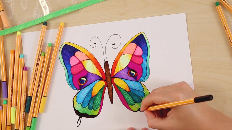 Kelebek Nasıl çizilir Wwwstabilocomtr